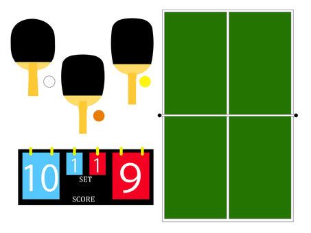 乒乓球 (乒乓) 圖標集 2