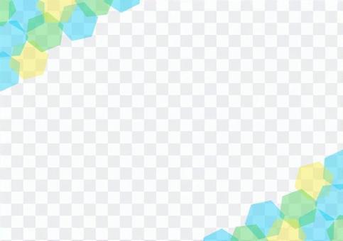 六角形フレーム
