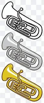 儀器(Euphonium)3種顏色