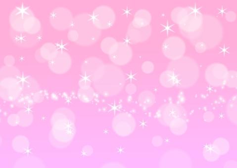 閃光散景背景粉紅色可愛