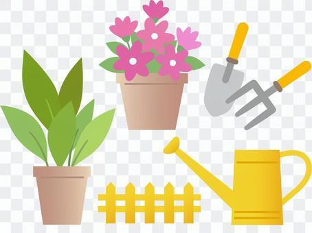 60717. Garden equipment 1