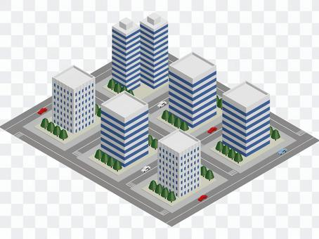Block of high-rise building (eps version)