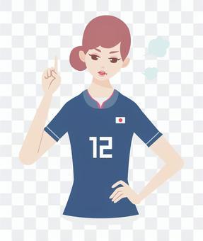 足球支持者婦女抗議