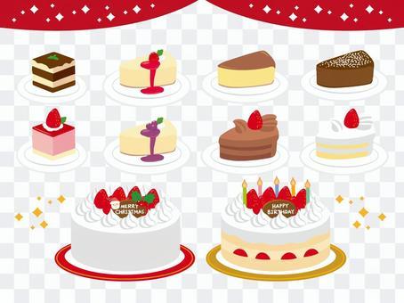 聖誕節·生日蛋糕