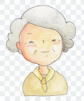 Granny (upper body) 01