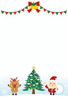 簡單的聖誕節框架