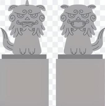 【建築】獅子獅子