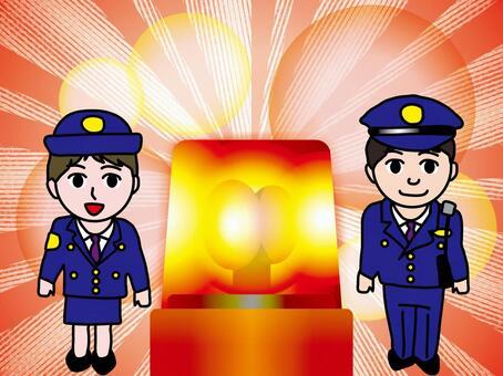 警車(5)警務人員