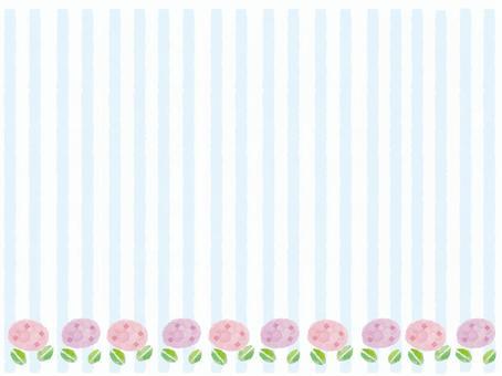 雨季繡球背景素材1