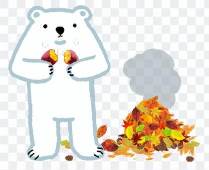 北極熊系列,烤地瓜