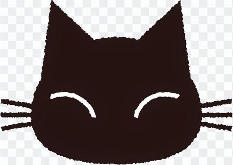 黑貓剪影2