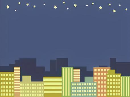 Urban sky frame