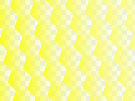 六角タイル「黄」