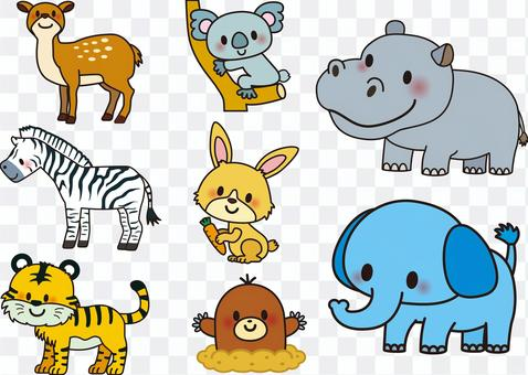 There are also animal series (3) 1 and 2!