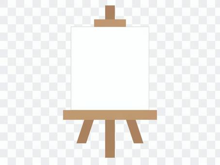 畫架(白色)