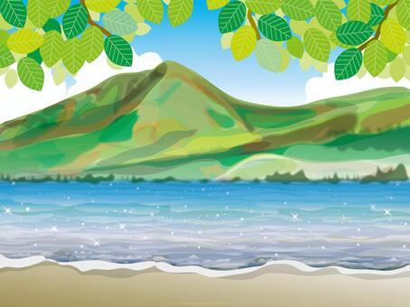 四季湖(2)夏季清新綠