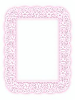 Lace frame (cherry blossom)