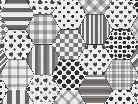 六角拼湊單調