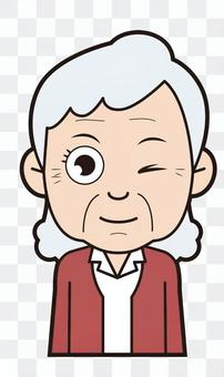 Grandmother (wink)
