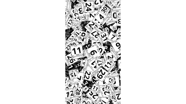 日曆,日曆,年,月,年,剪影 5