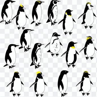 企鵝鳥冷簡單很多