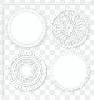 花邊裝飾框/框架/裝飾裁決