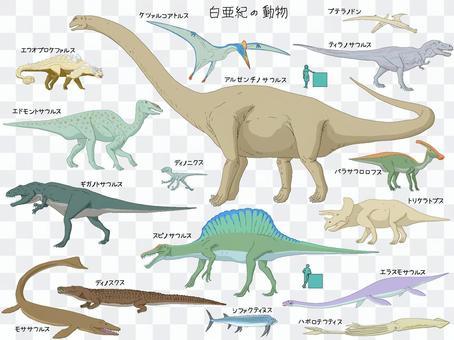 白堊紀動物