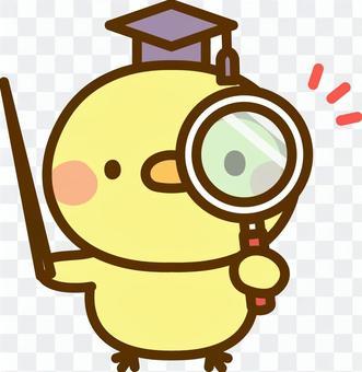 一個放大鏡的小老師
