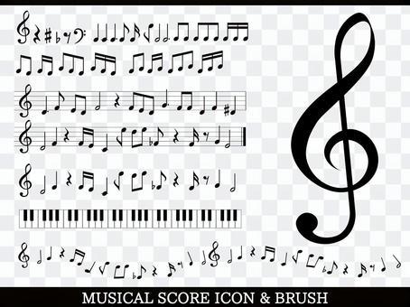 音乐·注意图设置素材集合