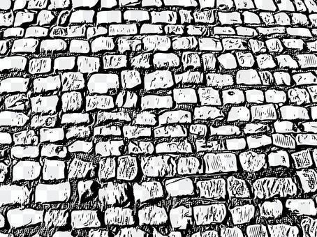 Monochrome texture brick