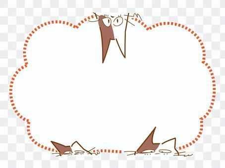 斑貓貓氣球架