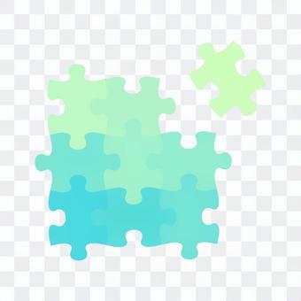 欠けたパズルピース02