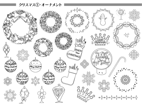 聖誕節 1 裝飾品