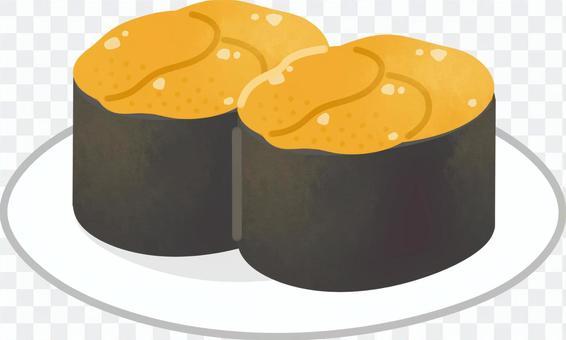 海膽壽司(2個)