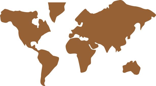 世界地圖圖標說明