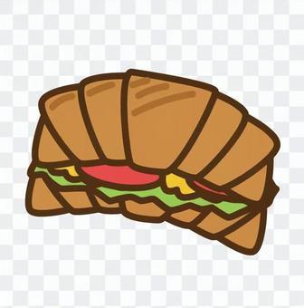 羊角麵包沙