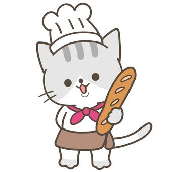 工作 Nyanko 麵包店