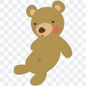 熊毛绒动物