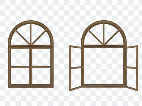 Open and closed windows