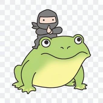忍者(騎蟾蜍)