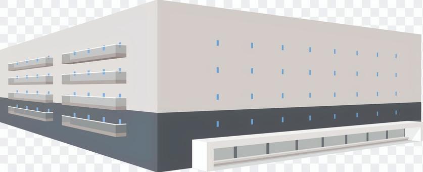 建立大型倉庫立體