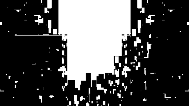 City silhouette, white background, transparent background