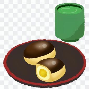 栗子麵包和茶