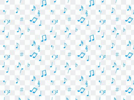 Musical note on one side wallpaper 4