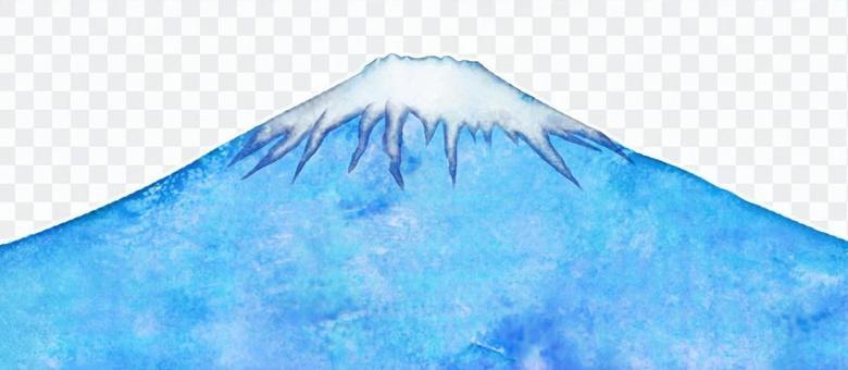 Fuji watercolor painting