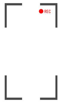 Vertical screen REC frame