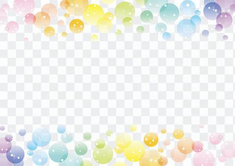 虹色の背景12