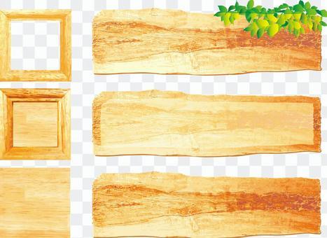 木紋鍵盤標題標題框架框架集