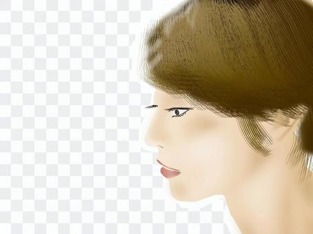Women's profile profile series 05