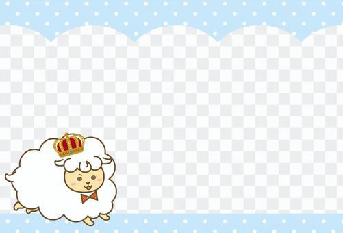 Card crown sheep